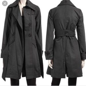 Mike & Chris Cotton Canvas Trench Coat Jacket